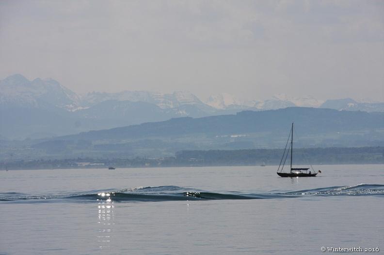 Bodensee - auf dem Wasser